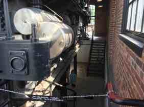 Greenfield Village Print Shop Apprentice Under the engine