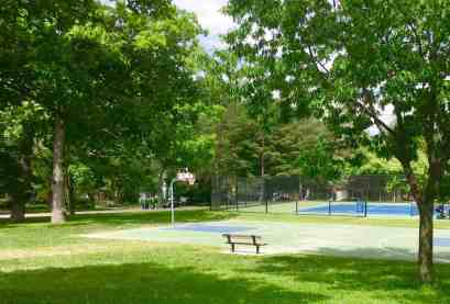 Allmendinger Park Basketball/Tennis Court