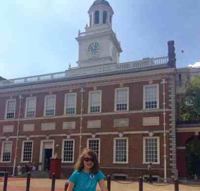 Philadelphia Trip Report - Independence Hall - Outside Shot