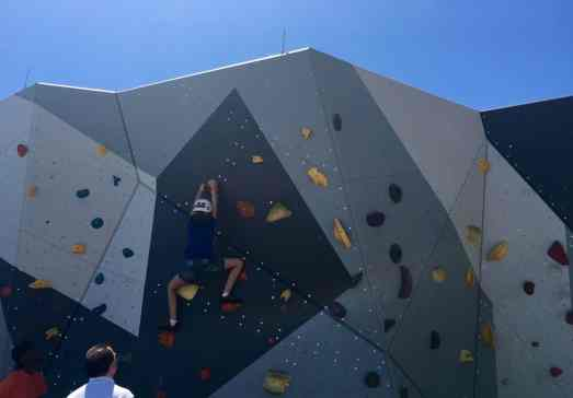 Chicago Trip Report - Maggie Daley Park - Bouldering