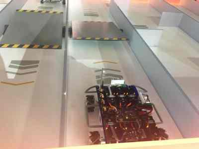 Family Friendly Auto Show Activities - Chevrolet Robot