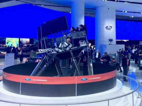 Family Friendly Auto Show Activities - Ford Simulators