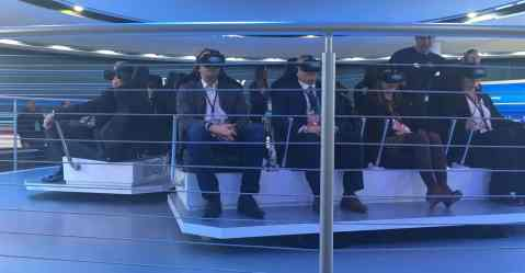 Family Friendly Auto Show Activities - Ford Virtual Reality