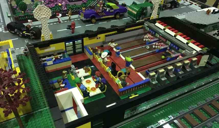 Brick Bash 2017 - Batman Bowling Alley