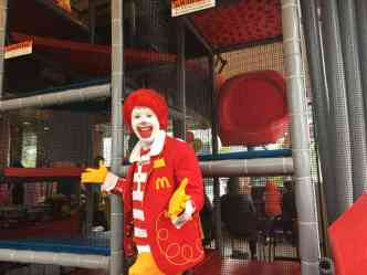 Lohr Rd McDonalds Remodeled Play Area