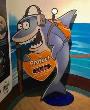 Sea Life Michigan Aquarium - Protection