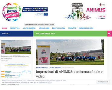 ANIMUS YOUTH GAMES sito