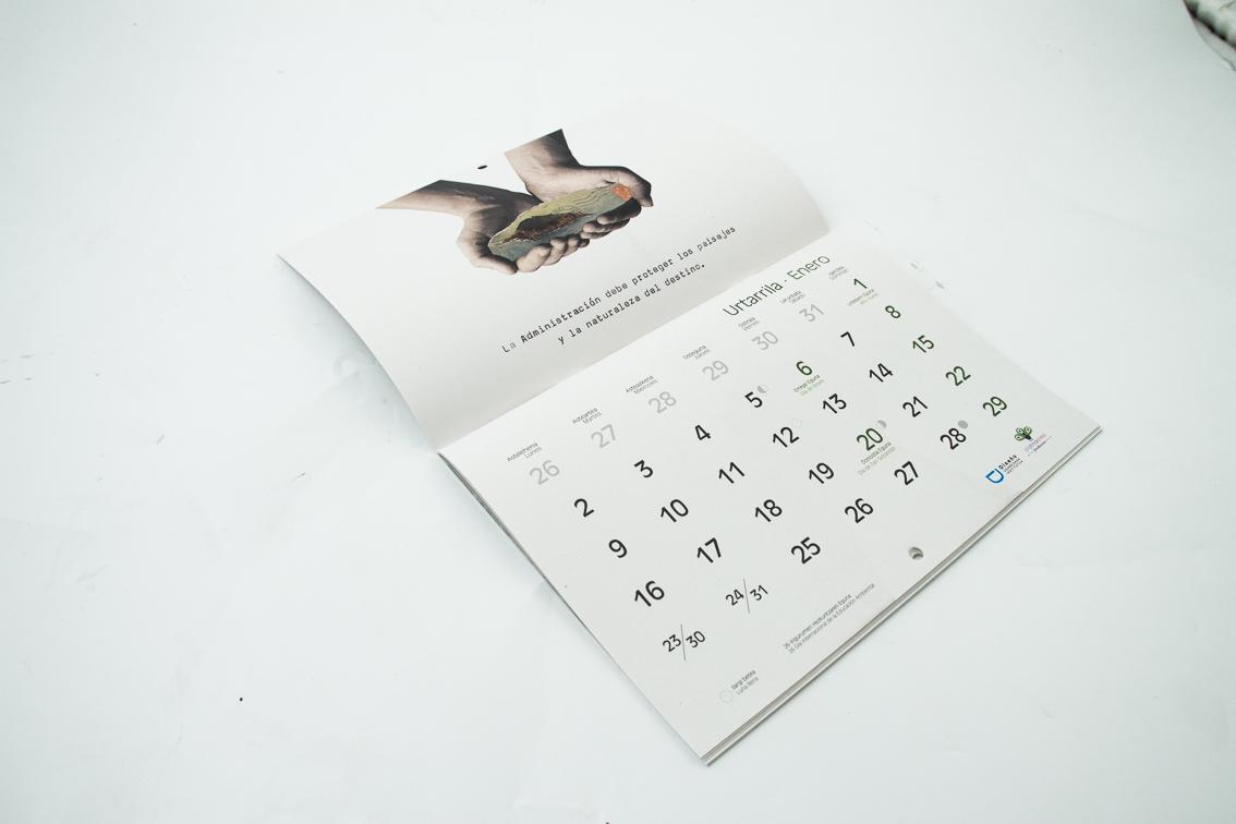Calendario Sostenible Cristina Enea