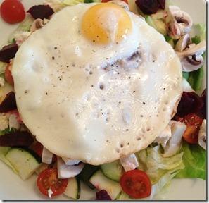 29.08 egg feta salad