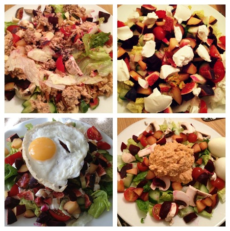 Salads October