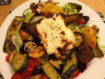 Halloumi and r.veg
