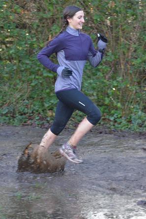 Happy running