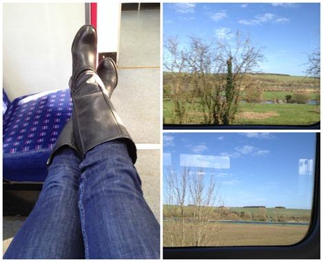 Bath train trip
