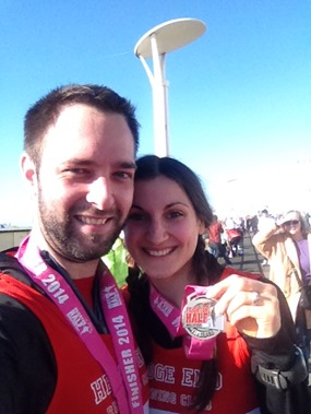 Brighton half finished