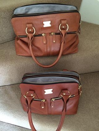 Mum and daughter bags
