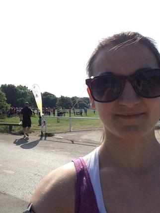 Netley Abbey Parkrun selfie
