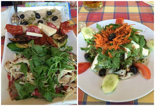 Italian meal in Berlin