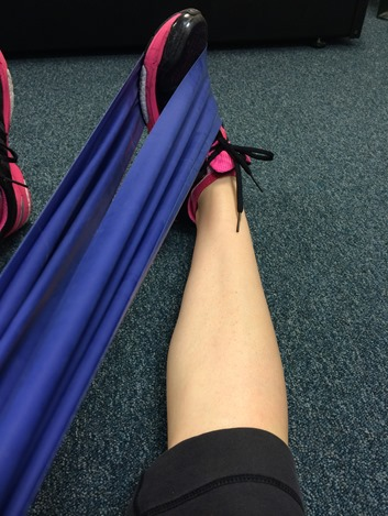 Peroneal Tendon Stretch