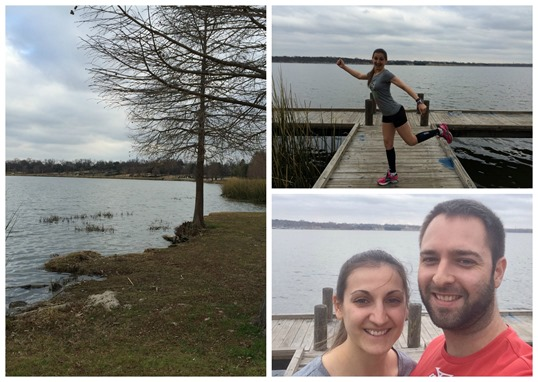White Rock Lake run