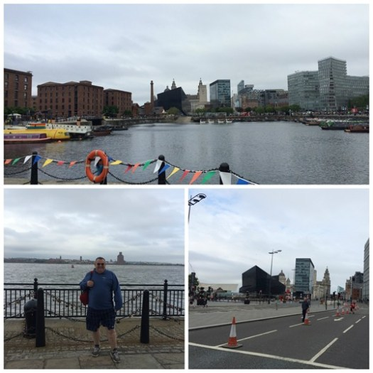 Liverpool marathon start area