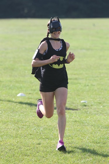 22 Aug 2015 - Photo by Stuart Martin - Runners at Netley Abbey Parkrun dressed as Heroes and Villains as they run 5K around Royal Victoria Country Park