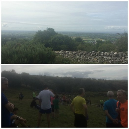 Cheddar Gorge marathon start