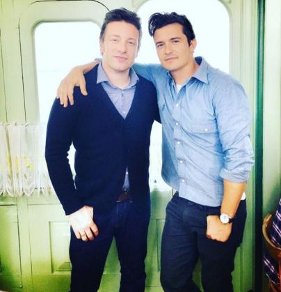 Jamie and Orlando