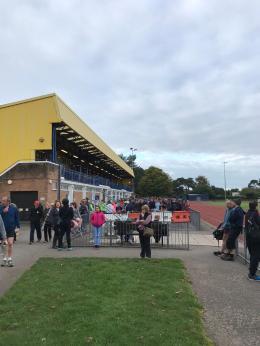 Bournemouth marathon race village