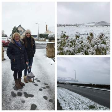 Snow in Conwy