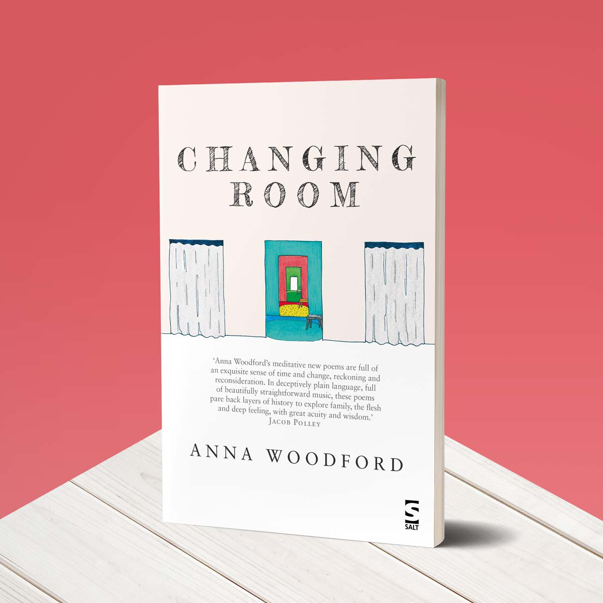 Book cover for Changing Room by Anna Woodford