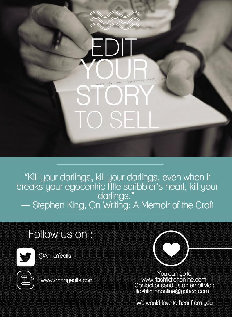 Edit Your Short Fiction To Sell