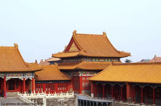 The corners of the Inner court of the Forbidden City in Beijing are home to yet more impressive palaces
