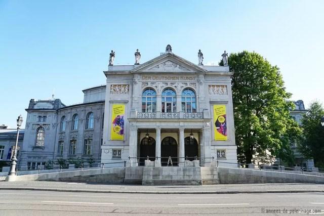 The Art Nouveau Prinzregententheater in Munich