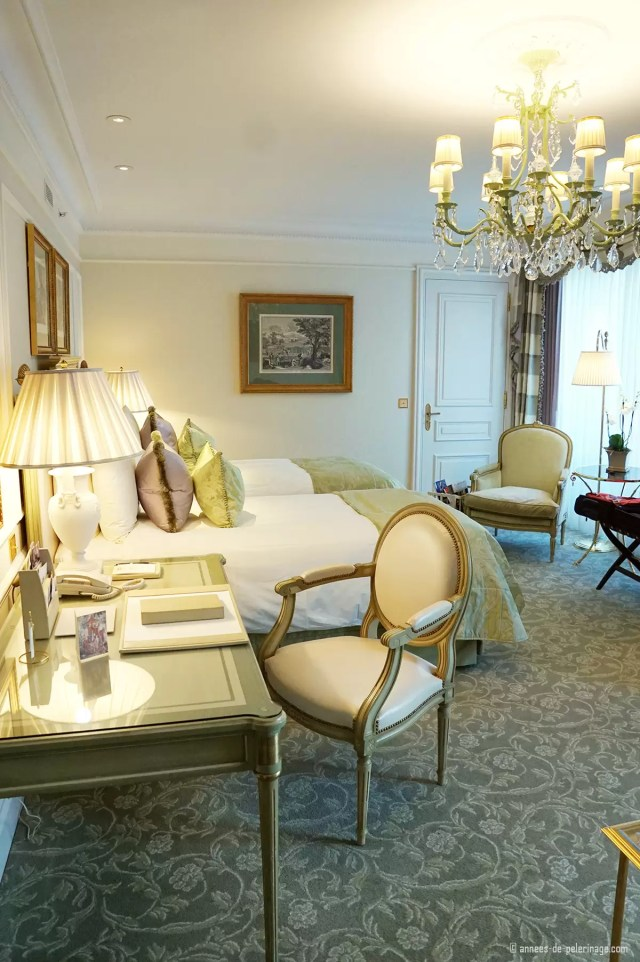 The Premium Room at the the Four Seasons Hotel George V in Paris