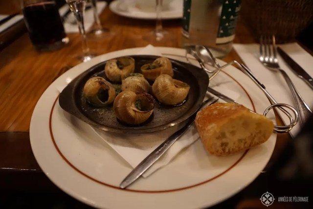 Snails in herbal butter - one of the most authentic french foods