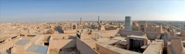 Khiva is a museum city in Uzbekistan that still has the feel of the ancient Silk Road