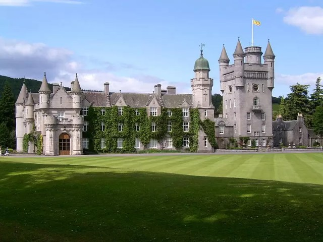 Balmoral Castle in Scotland,, pic by Joaquín Martínez