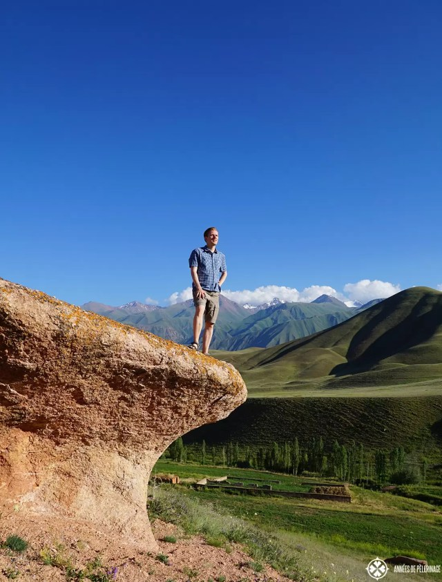 hiking in the high mountains was my favorite thing to do in Kyrgyzstan