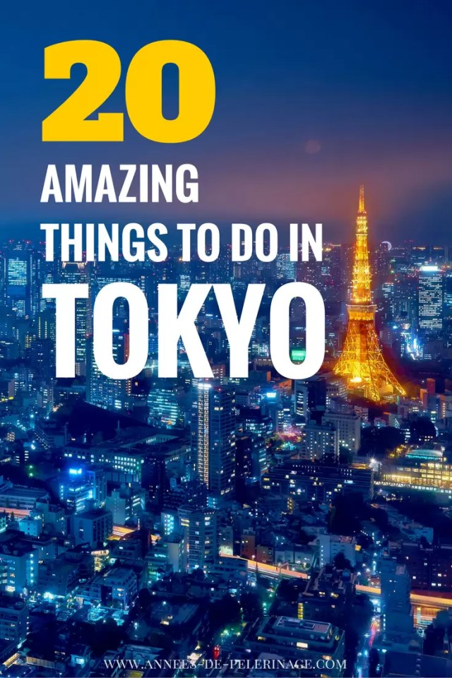 20 amazing things to do in Tokyo, Japan