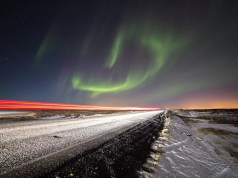 Nordic lights in Iceland - plan your Iceland itinerary for the winter months of you want to see them