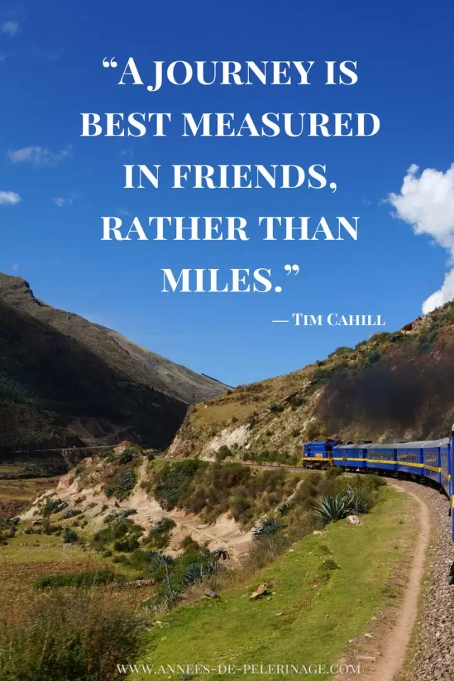 Travel Quotes by Tim Cahill: A Journey is best measured in friends, rather than miles