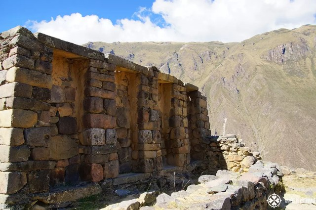 The intihuatana temple in Ollantaytambo, Peru