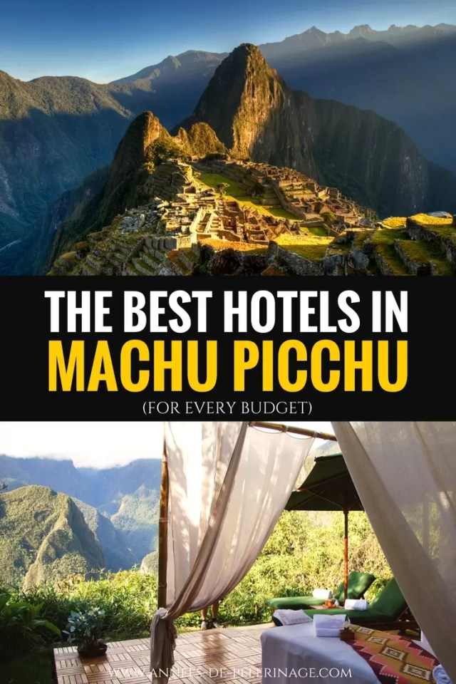 Best Hotels In Aguas Calientes
