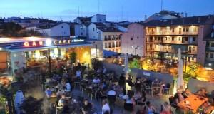 Gau & Café rooftop bar in Madrid