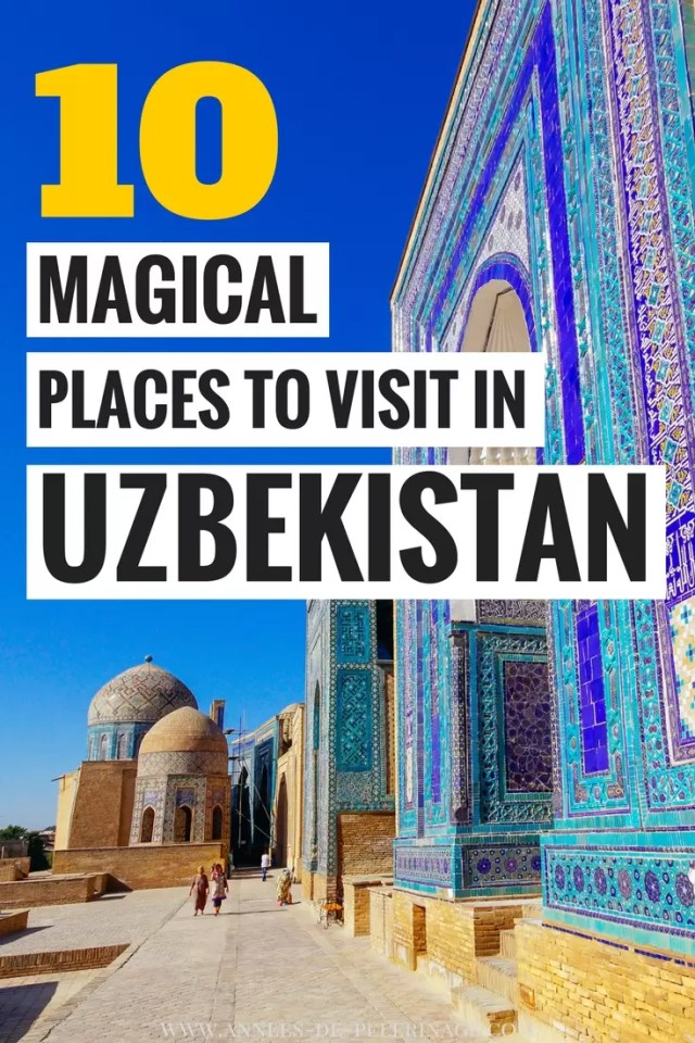 A massive list of the best things to do in Uzbekistan. What to see and where to stay - this blog post covers all the major tourist highlights in Uzbekistan and points of interest. When is the best time to visit Uzbekistan and what are the must-sees in Uzbekistan. Click for more information #Uzbekistan #travel