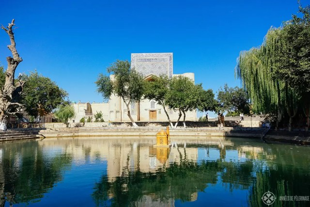 Lyab-i Hauz complex bukhara uzbekistan