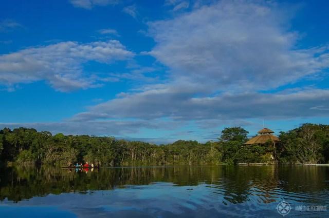 The La Selva lodge amazon tour in Ecuador