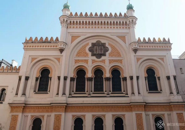 The Spanish Synagogue in the jewish Quarter of Prague's old town