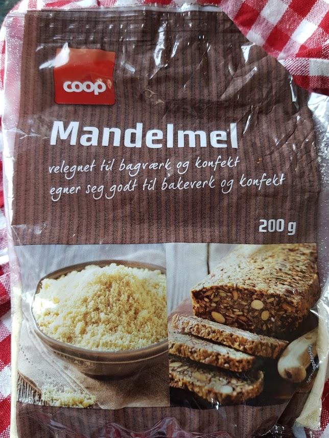 Mandelmel -  glutenfritt og lavkarbo