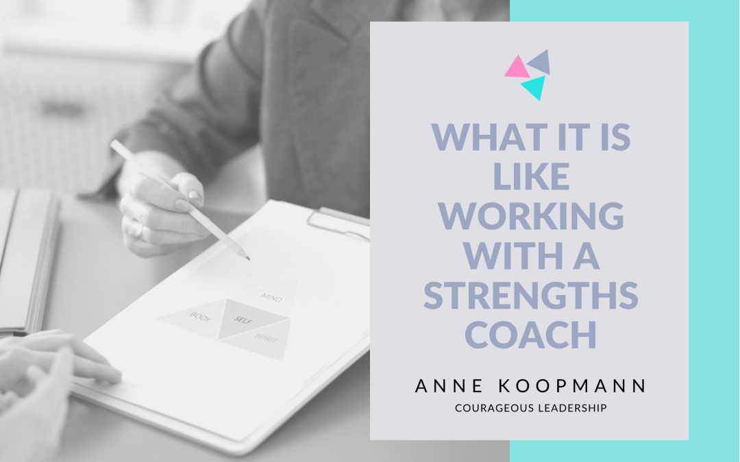 What is it like to work with a strengths coach?